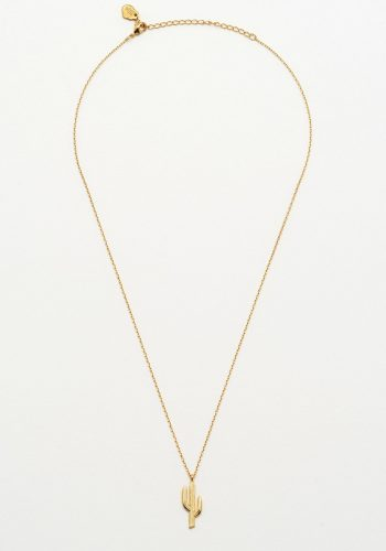 Estella Bartlett - Cactus Necklace Gold Plated