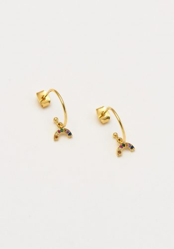 Estella Bartlett - Mini Rainbow Drop Earrings