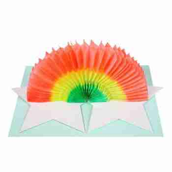 MERI MERI – Star & Rainbow Card