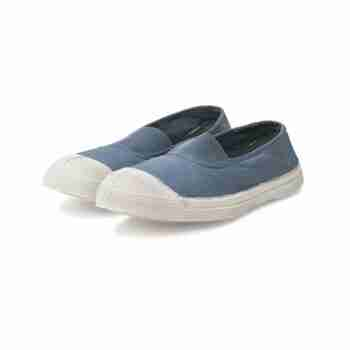 Bensimon Elastic Tennis Shoe – Denim