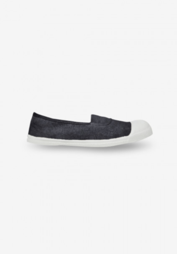 Bensimon Elastic Tennis Shoe - Carbon