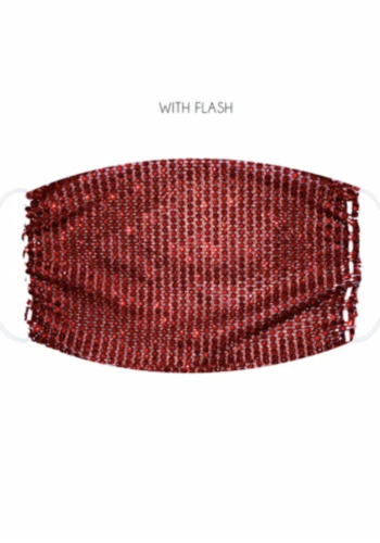 Luv Game Mesh Jewel Face Mask