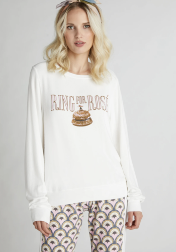 Wildfox Ring for Rosé Baggy Beach Jumper