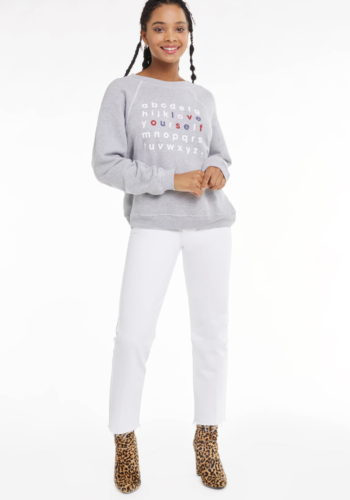 Wildfox Love Yourself Sommers Sweater