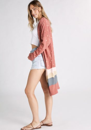 Wildfox Desert Night Sky Cardigan - Sienna