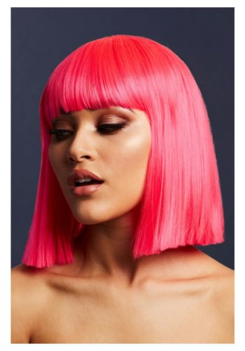 LOLA WIG - Neon Pink