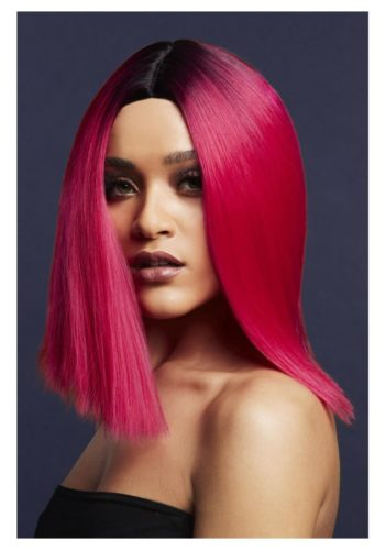 FEVER KYLIE WIG - Two Toned Blend, Magenta Pink