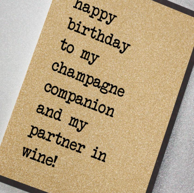 To My Champagne Companion
