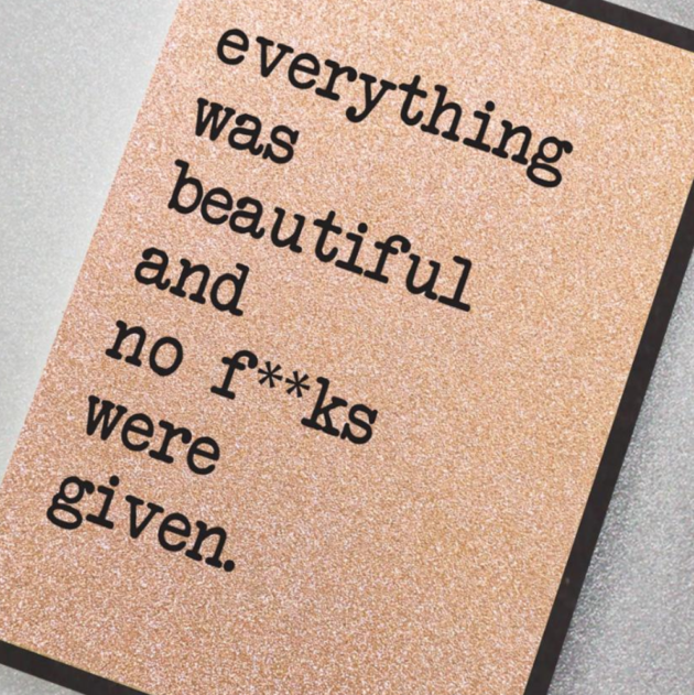 Everything was Beautiful…