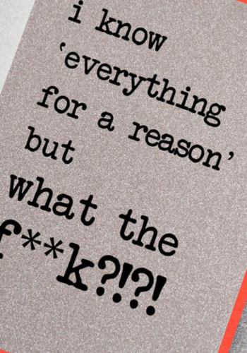 UD113 | I Know Everything For a Reason but What The F**K?!