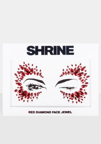 Red Diamond Face Jewels