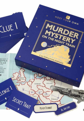 Host Your Own Murder Mystery on the Night Train Game