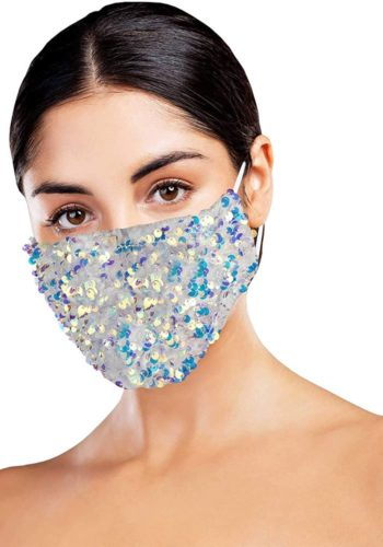 Bling Fashion Face Mask with 4 Filters