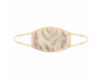 Poppin' Bottles Nude Crystal Face Mask