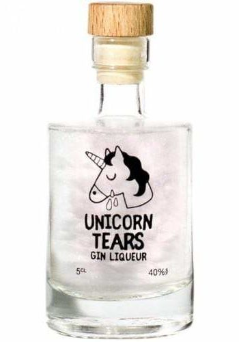 UNICORN TEARS WHITE GIN LIQUEUR MINIATURE 5cl