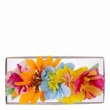 Bright Floral Blossom Party Crowns