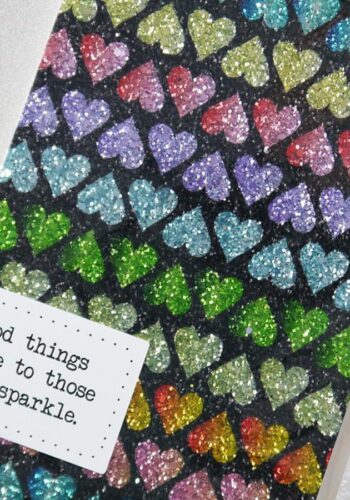Good Things Come to Those Who Sparkle (A5)