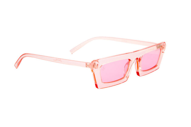 BABY RETRO NARROW RECTANGLE FRAMES PINK AND BLUE