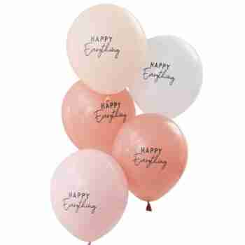 Pink Happy Everything Balloons