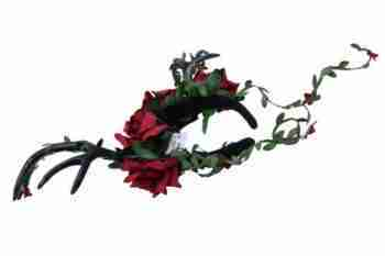 red rose antlers 1