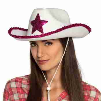 pink star rodeo hat 1
