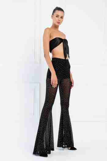 sheer embellished trousers 1