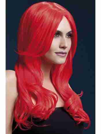 Fever Khloe Wig – neon red