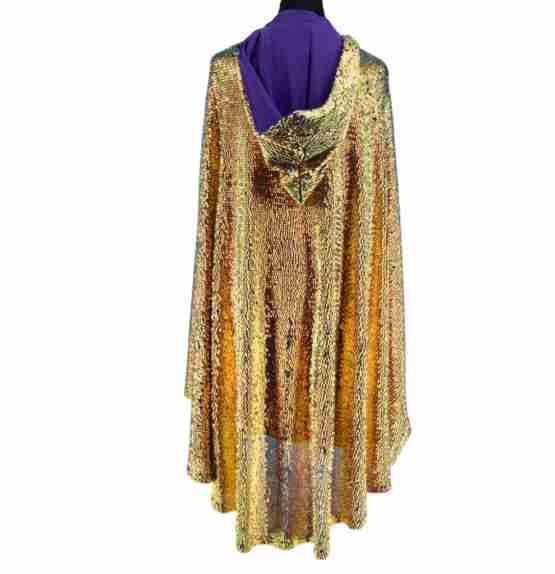 BUY IN STORE ONLY – Sequin Cape